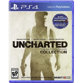 PS4 - Uncharted THE NATHAN DRAKE COLLECTION HITS