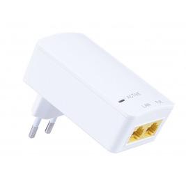 MaxLink PI15S PoE injektor - 802.3af, 48V, 0.32A, 15,4W, 1Gbit, do zásuvky