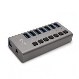 i-tec USB 3.0 Charging HUB 7port + Power Adapter 36W