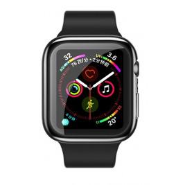 USAMS BH486 TPU Full Protective Pouzdro pro Apple Watch 44mm Transparent