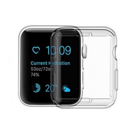 USAMS BH485 TPU Full Protective Pouzdro pro Apple Watch 40mm Transparent