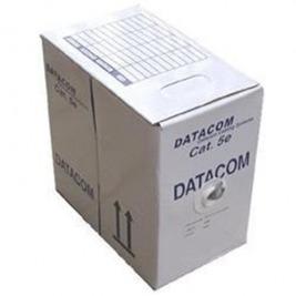 DATACOM  UTP flex,Cat5e PVC,šedý,100m,licna