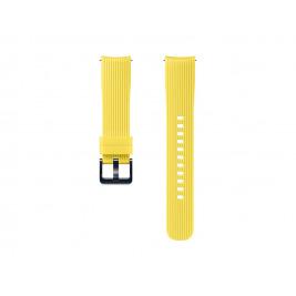 Samsung Silikonový řemínek Galaxy Watch 20mm Yellow