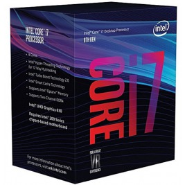 CPU INTEL Core i7-8700 (3.2GHz, 12M, LGA1151)