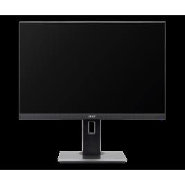 24'' LCD Acer B247W - IPS,1920x1200,4ms,60Hz,250cd/m2, 16:10,HDMI,DP,VGA,USB,repro,pivot + 3 roky NBD