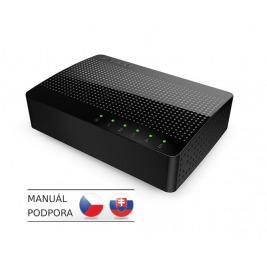 Tenda SG105 -  5x Gigabit Desktop Ethernet Switch, rychlosti 10/100/1000 Mb/s, Auto MDI/MDIX, 10Gb/s