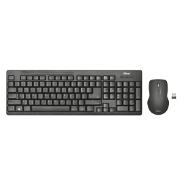 set TRUST Ziva Wireless klavesnice a myš, CZ a SK layout