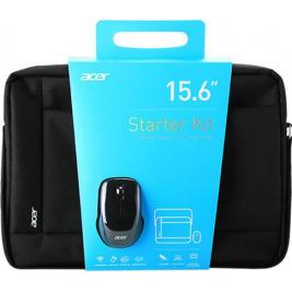 Acer STARTER KIT 15,6 brašna černá + bezdrátová myš