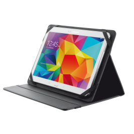 TRUST Primo Folio Case with Stand for 10'' tablets - black