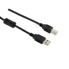 4World Kabel USB 2.0 AM-BM 5.0m HQ Black