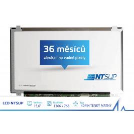 LCD PANEL NTSUP 15,6'' 1366x768 40PIN TENKÝ MATNÝ