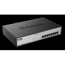 D-Link DGS-1008MP 8x 1000 Desktop Switch,8PoE port