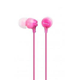 SONY sluchátka MDR-EX15LP, růžové