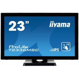 23'' LCD iiyama T2336MSC-B2 - multidotekový, FullHD, IPS, kapacitní, USB