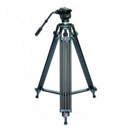 Braun PVT-185 profi videostativ (89-185cm, 4500g, fluid hlava s dlouhou rukojetí)