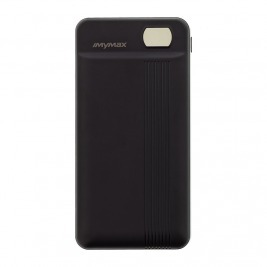 MyMAx MP12 PowerBank 20000mAh vč. LCD Type C/microUSB Black