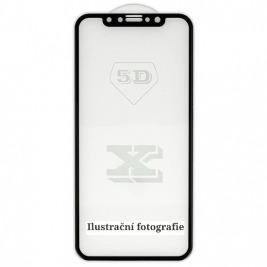 5D tvrzené sklo Apple iPhone XR Black (FULL GLUE)