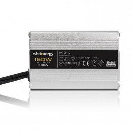 WE Měnič napětí DC/AC 24V / 230V, 150W, USB, mini