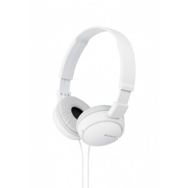 SONY sluchátka MDR-ZX110 bílé