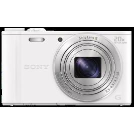 Sony DSC-WX350 bílá, 18,2Mpix,20xOZ,fullHD,WiFi