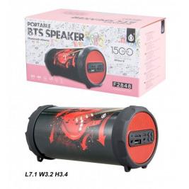 Bluetooth Port.Speaker PLUS Mini F2848, Red Guitar