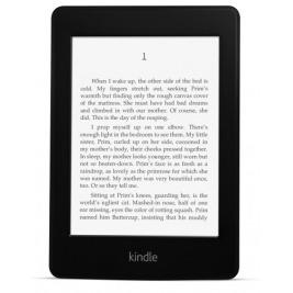 E-book AMAZON KINDLE PAPERWHITE 4 2018, 6'' 8GB E-ink displej, WIFi, BLACK, SPONZOROVANÁ VERZE