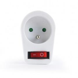 GEMBIRD EnerGenie zásuvka s vypínačem, bílá
