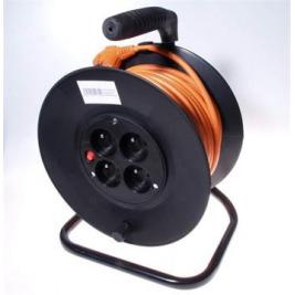 PremiumCord Prodlužovací kabel 230V 25m buben, průřez vodiče 3x1,5mm2