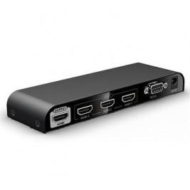 PremiumCord HDMI switch 3:1, 4K@60Hz, dálkové ovl.