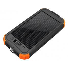 VIKING Solární outdoorová powerbanka Charlie II 12000mAh, Oranžová