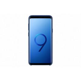 Samsung Zadní kryt - kůže Alcantara pro S9+ Blue
