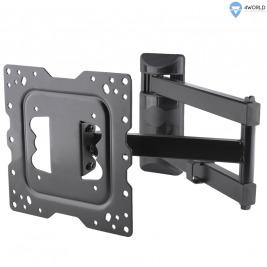 4W Držák pro LCD 15-43'' sklopný/otočný max.40kg
