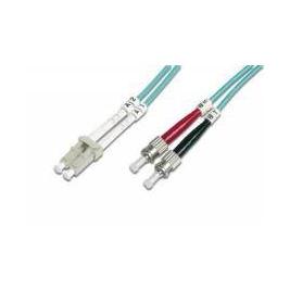 Optický patch kabel duplex LC-ST 50/125 MM 10m OM3