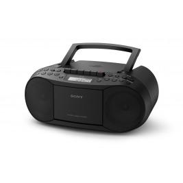 Sony radiomagnetofon s CD přehr. CFD-S70, černý
