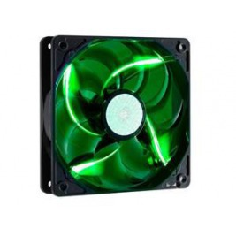 větrák Cooler Master SickleFlow 120x120, long life sleave, 19dBA, green LED