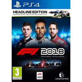PS4 - F1 2018 D1 edice