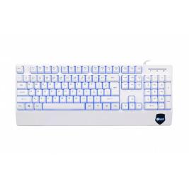 C-TECH CZ/SK KB-104W USB, 3 barvy podsvícení, bílá