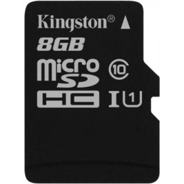 8GB microSDHC Kingston UHS-I Industrial Temp + bez adapteru