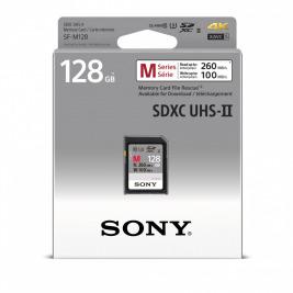 SONY SD karta SFG1M, 128GB, class 10, až 260MB/s, pro 4K