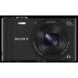 Sony DSC-WX350 černá, 18,2Mpix,20xOZ,fullHD,WiFi