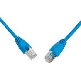 SOLARIX patch kabel CAT5E SFTP PVC 2m modrý