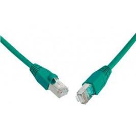 SOLARIX patch kabel CAT5E SFTP PVC 10m zelený