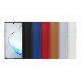Samsung Kožený zadní kryt pro Galaxy Note10+ Blue
