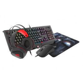 Herní set 4v1 Genesis Cobalt 330 RGB CZ/SK, RGB podsvícení