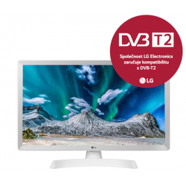 "24"" LG LED 24TL510V - HD ready,DVB-T2,HDMI,white"