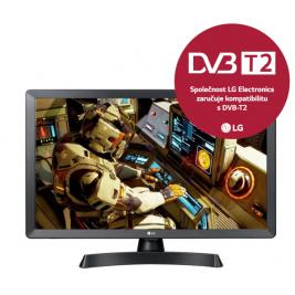 "24"" LG LED 24TL510V - HD ready,DVB-T2,HDMI,USB"