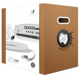 UBNT UniFi Cable, CAT6, CMR, 23 AWG, 305m