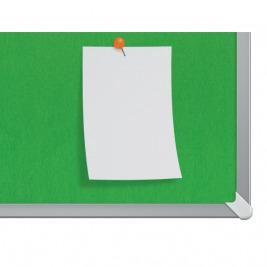 """Textilní nástěnka Nobo Widescreen 32"""", zelená"""