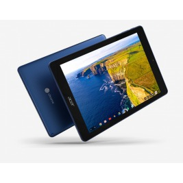 Acer Chromebook Tab 10 - 9,7T''/RK3399/4G/32GB/Chrome modrý