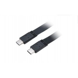 AKASA - USB 3.1 typ C na typ C kabel - 1 m slim